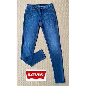 Levi's women blue skinny denim jeans W26 L29